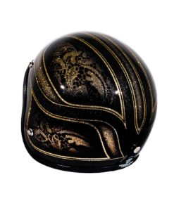 70's Helmets Black Lace - Left