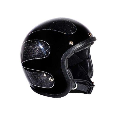 70's Helmets Black Scallops 2016 - Profile
