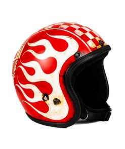 70's Helmets Born To Ride - Front