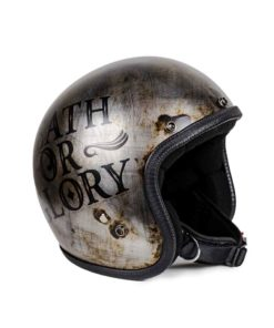 70's Helmets Death Or Glory - Profile Right