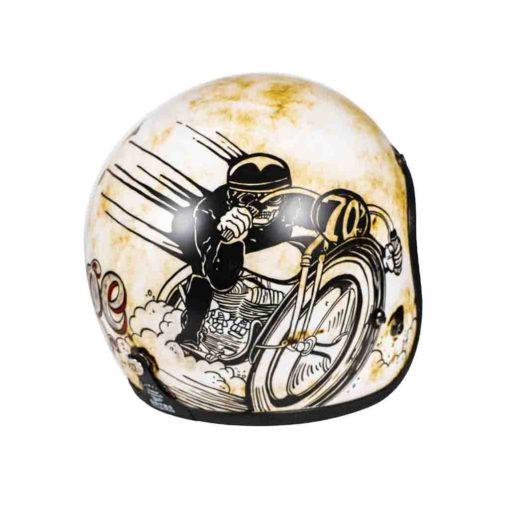 70's Helmets Evil Vintage - Back Right