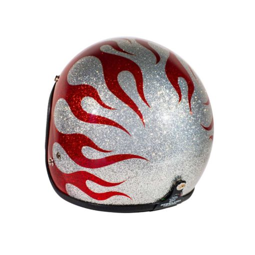 70's Helmets Flames 2013 - Left