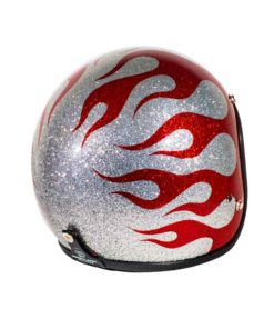 70's Helmets Flames 2013 - Right