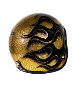 70's Helmets Flames 2020 - Back Right