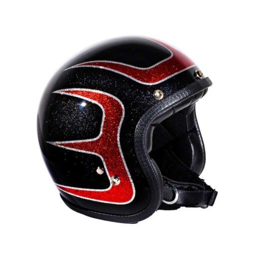 70's Helmets Hotrod Scallops - Profile