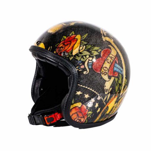 70's Helmets Jerry's Tattoo