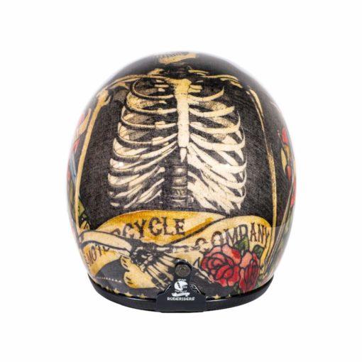 70's Helmets Jerry's Tattoo - Back
