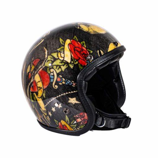 70's Helmets Jerry's Tattoo - Profile