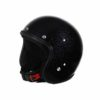 70's Helmets Metal Flake Black - Profile