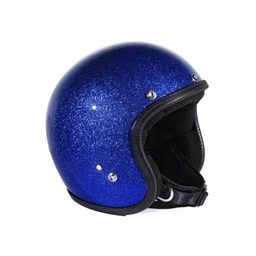 70's Helmets Metal Flake Blue