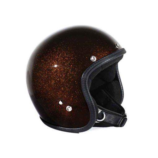 70's Helmets Metal Flake Bronze