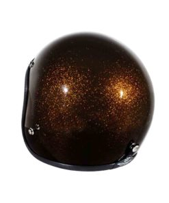 70's Helmets Metal Flake Bronze - Back Left