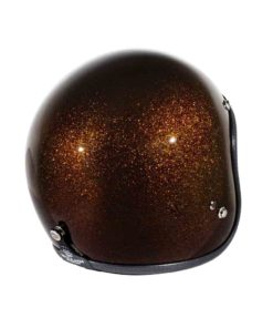 70's Helmets Metal Flake Bronze - Back Right