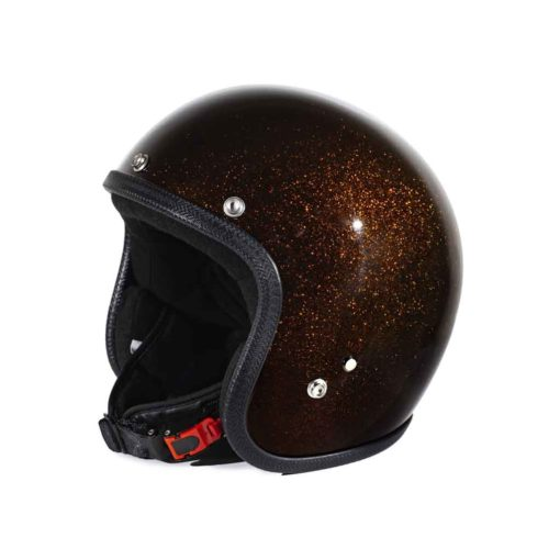 70's Helmets Metal Flake Bronze - Profile