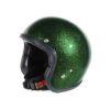 70's Helmets Metal Flake Deep Green - Profile