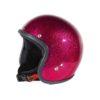 70's Helmets Metal Flake Fucxia - Profile