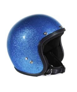 70's Helmets Metal Flake Light Blue