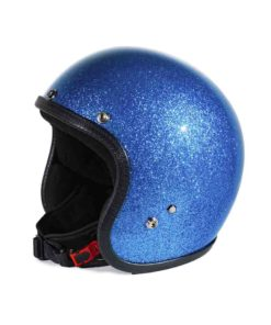 70's Helmets Metal Flake Light Blue - Profile