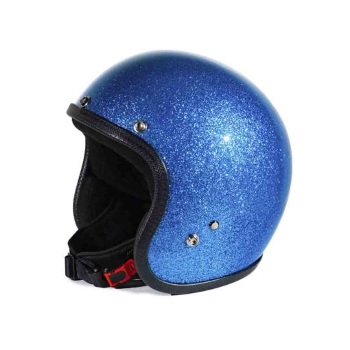 70's Helmets Metal Flake Light Blue - Profile