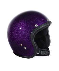 70's Helmets Metal Flake - Purple