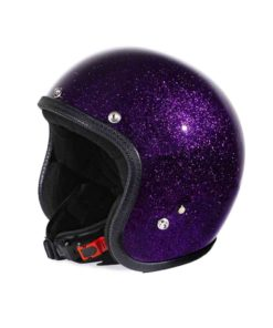 70's Helmets Metal Flake Purple - Profile