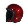 70's Helmets Metal Flake Red - Profile