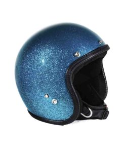 70's Helmets Metal Flake Turquoise