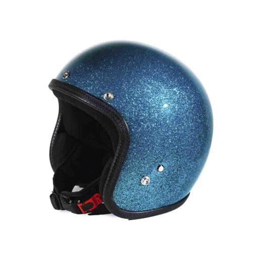 70's Helmets Metal Flake Turquoise - Profile