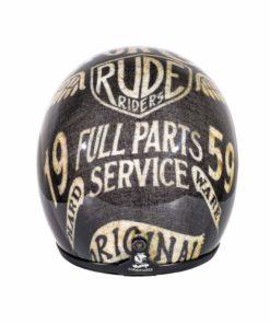 70's Helmets Original Spare Parts - Back