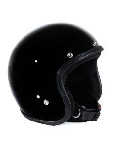 70's Helmets Pastello Glossy Black - Left