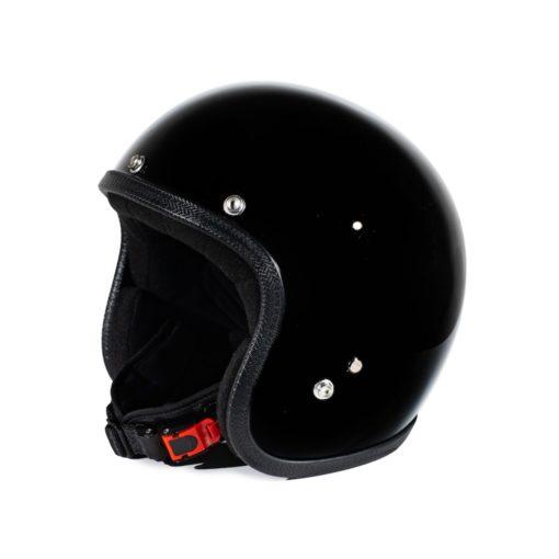 70's Helmets Pastello Glossy Black - Right
