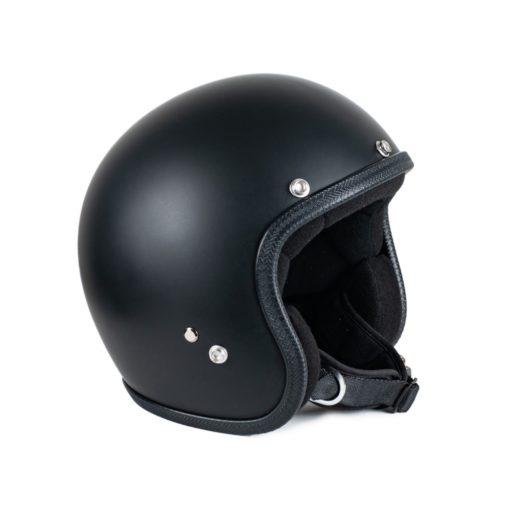 70's Helmets Pastello Mat Black - Left