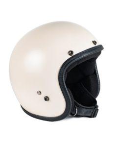70's Helmets Pastello Mat Ivory - Left