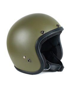 70's Helmets Pastello Mat Olive - Left