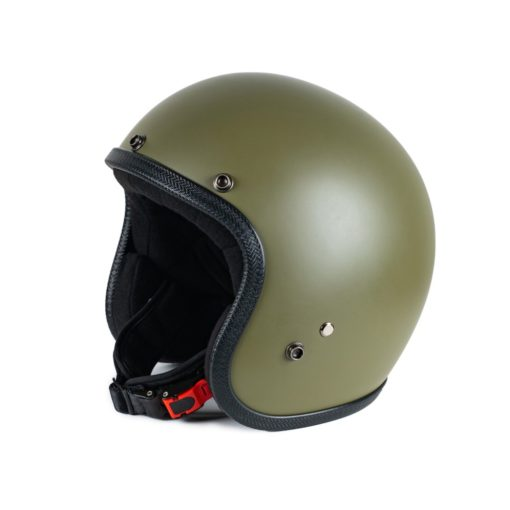 70's Helmets Pastello Mat Olive - Right