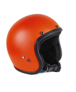 70's Helmets Pastello Mat Orange - Left