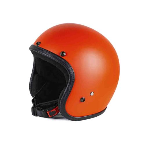 70's Helmets Pastello Mat Orange - Right