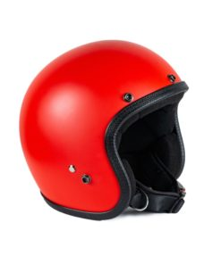 70's Helmets Pastello Mat Red - Left