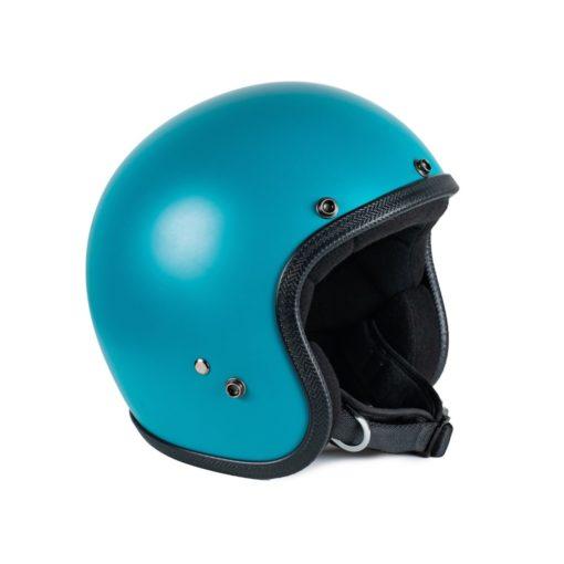 70's Helmets Pastello Mat Turquoise - Left