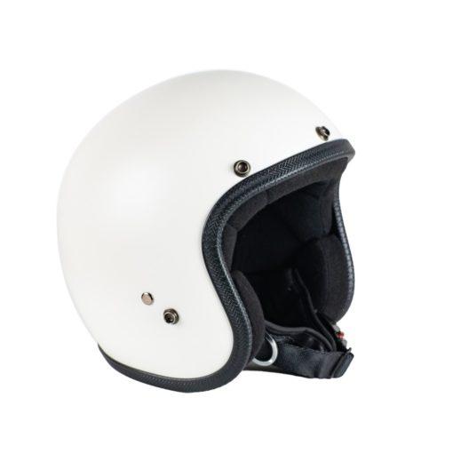 70's Helmets Pastello Mat White - Left