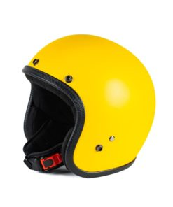70's Helmets Pastello Mat Yellow - Right