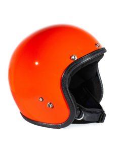 70's Helmets Pastello Orange - Left