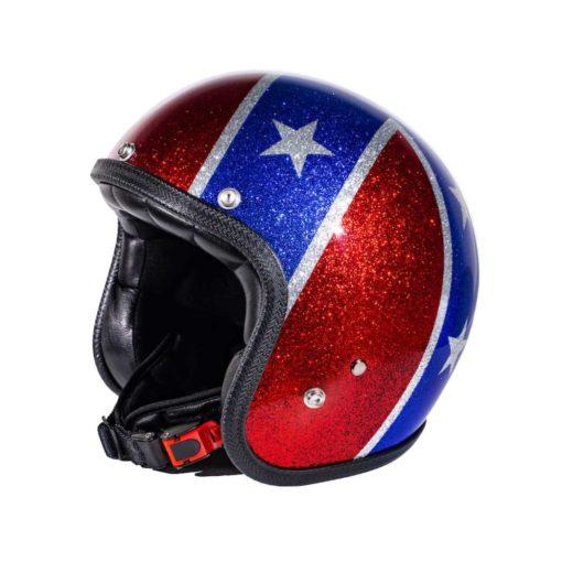 70's Helmets Rebel Flag