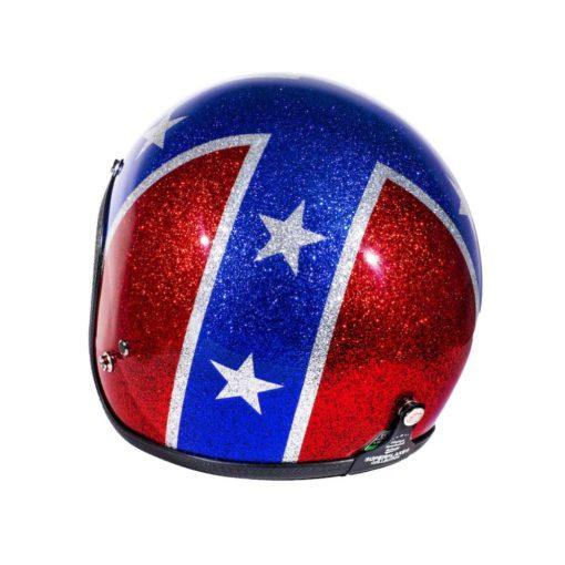 70's Helmets Rebel Flag - Left