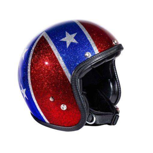 70's Helmets Rebel Flag - Profile - Profile
