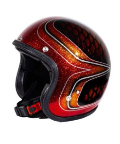 70's Helmets Red Fish Scales 2013