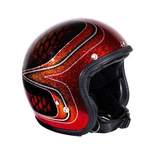 70's Helmets Red Fish Scales 2013 - Profile