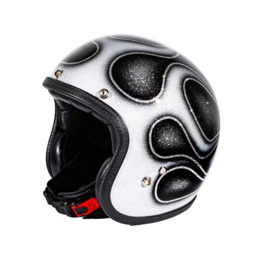 70's Helmets Skull & Flames 2018
