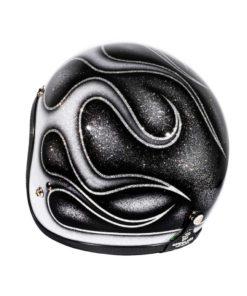 70's Helmets Skull & Flames 2018 - Left