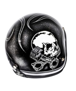 70's Helmets Skull & Flames 2018 - Right